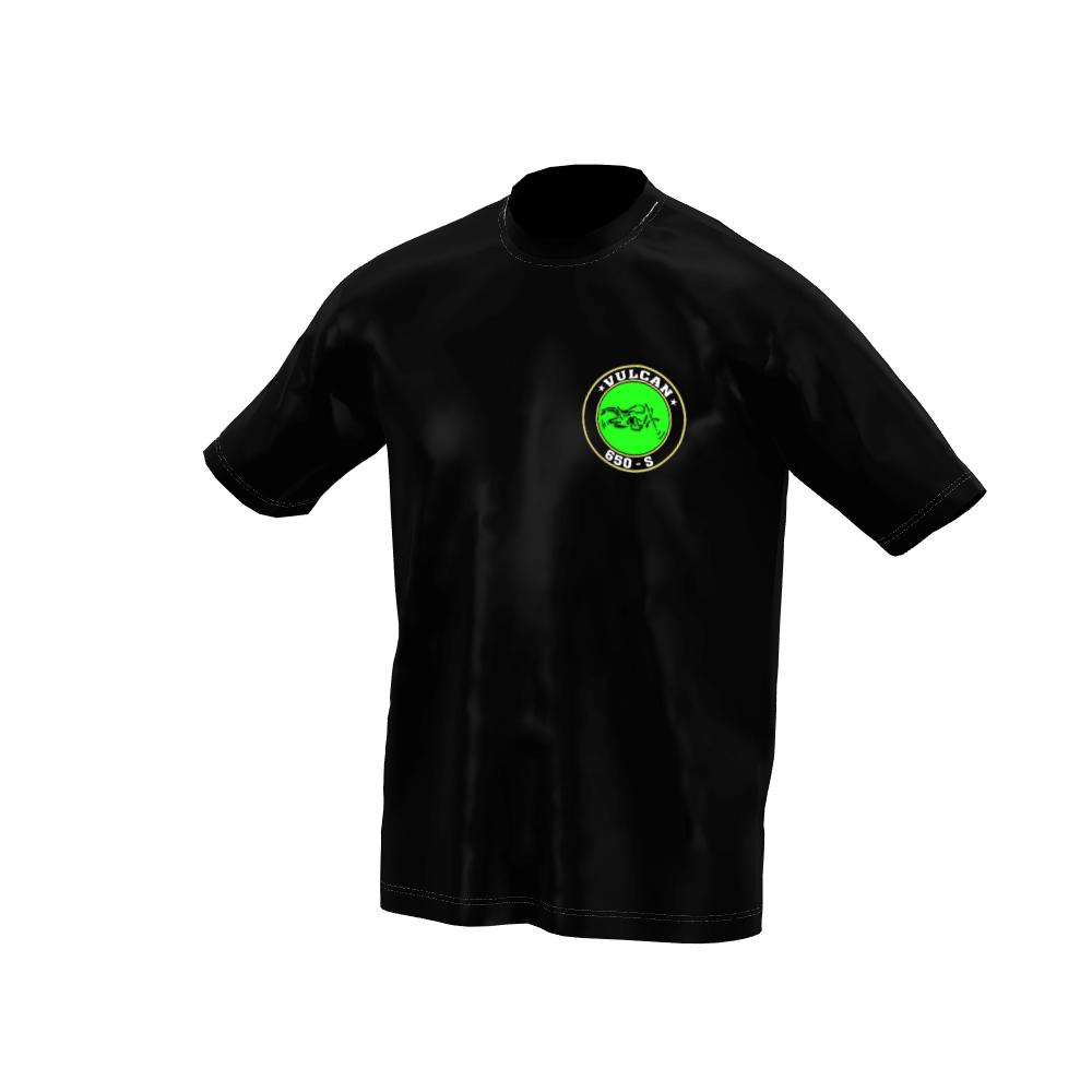 Camiseta Vulcan 650 s Black