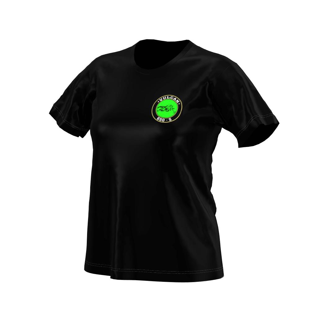 Camiseta Vulcan 650 s Black (Feminina)