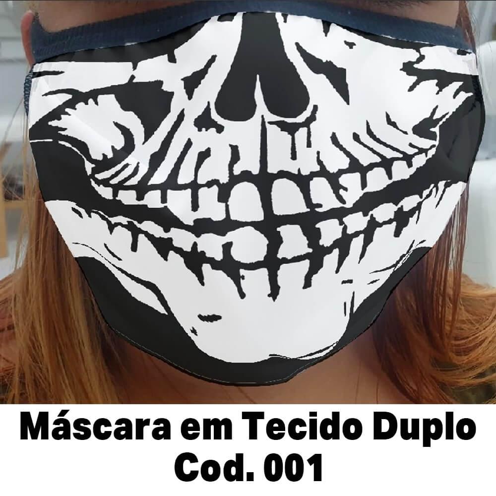 CÓPIA - Mascara em Tecido Cod. 001