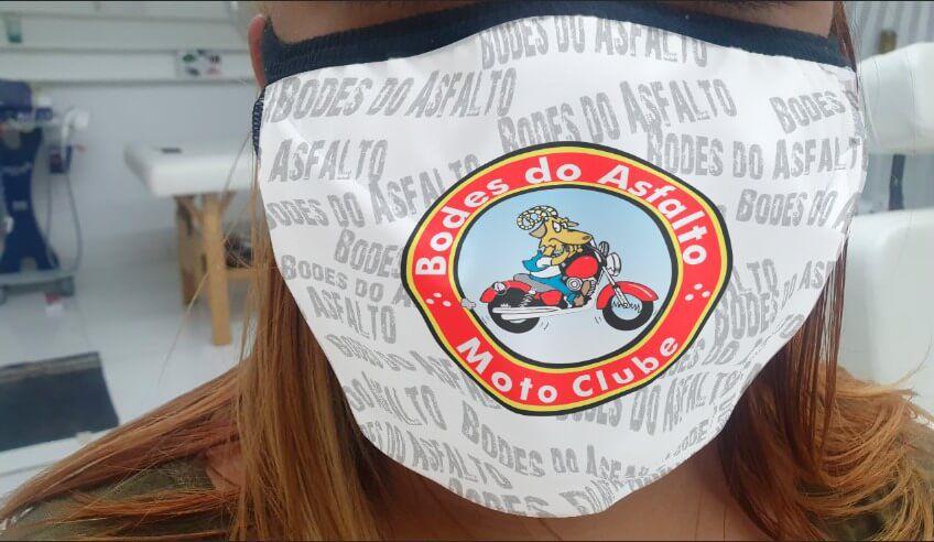 Máscara em Tecido   - Bodes do Asfalto