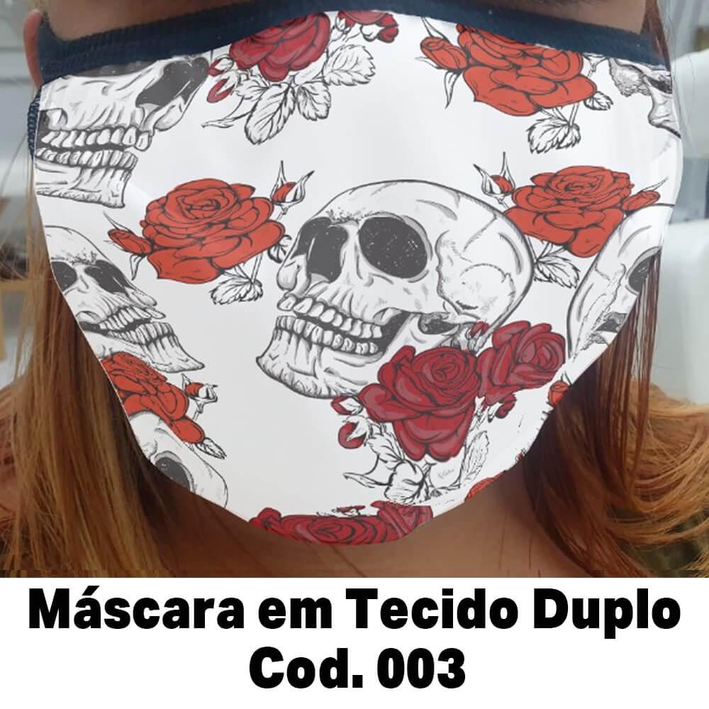 Máscara em Tecido  Cod. 003