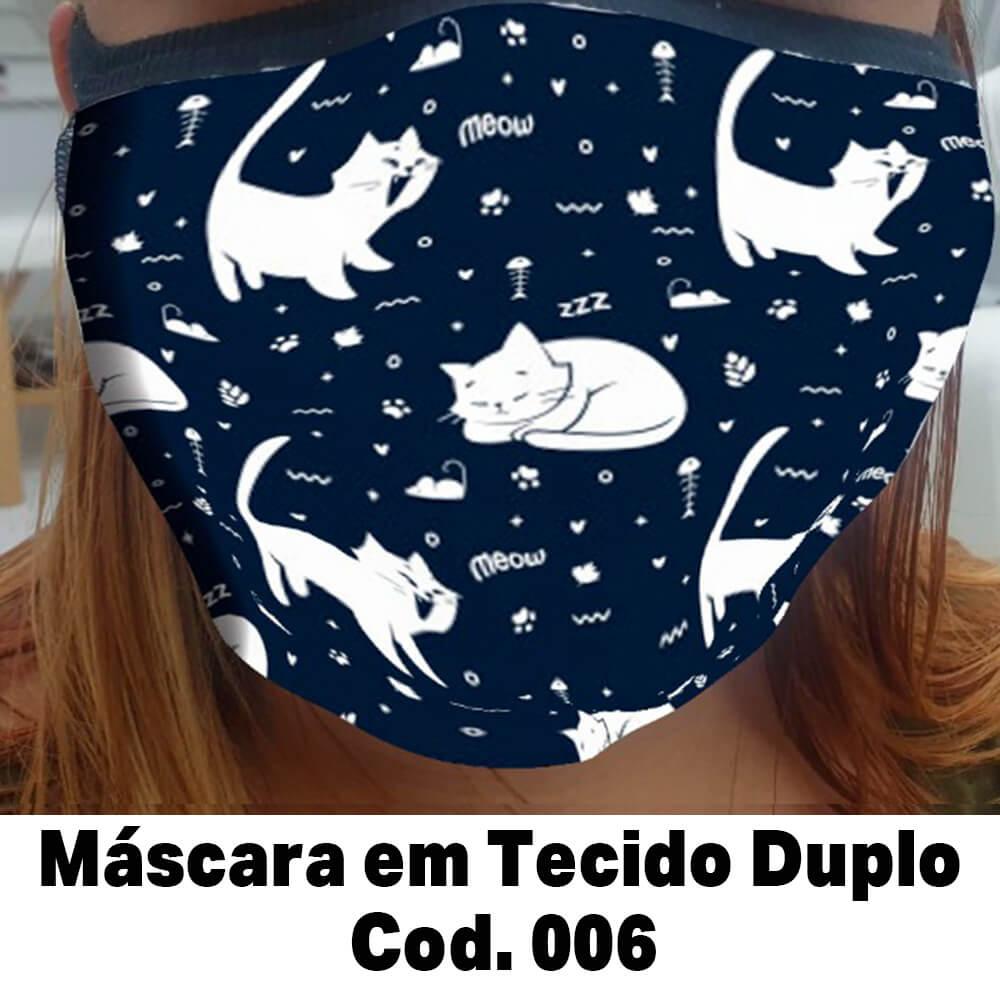 Máscara em Tecido  Cod. 006