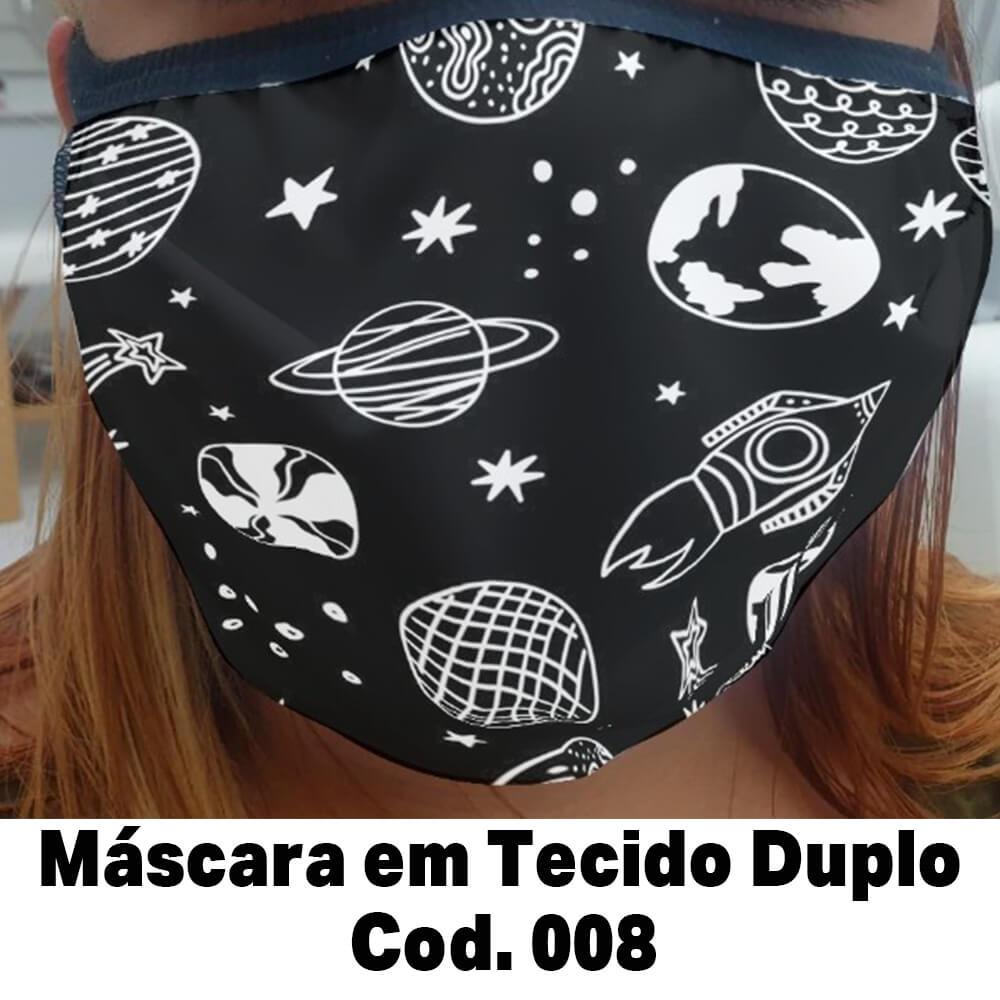 Máscara em Tecido  Cod. 008