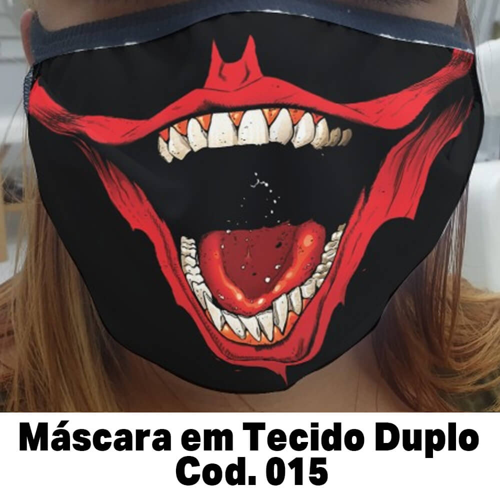 Máscara em Tecido  Cod. 015