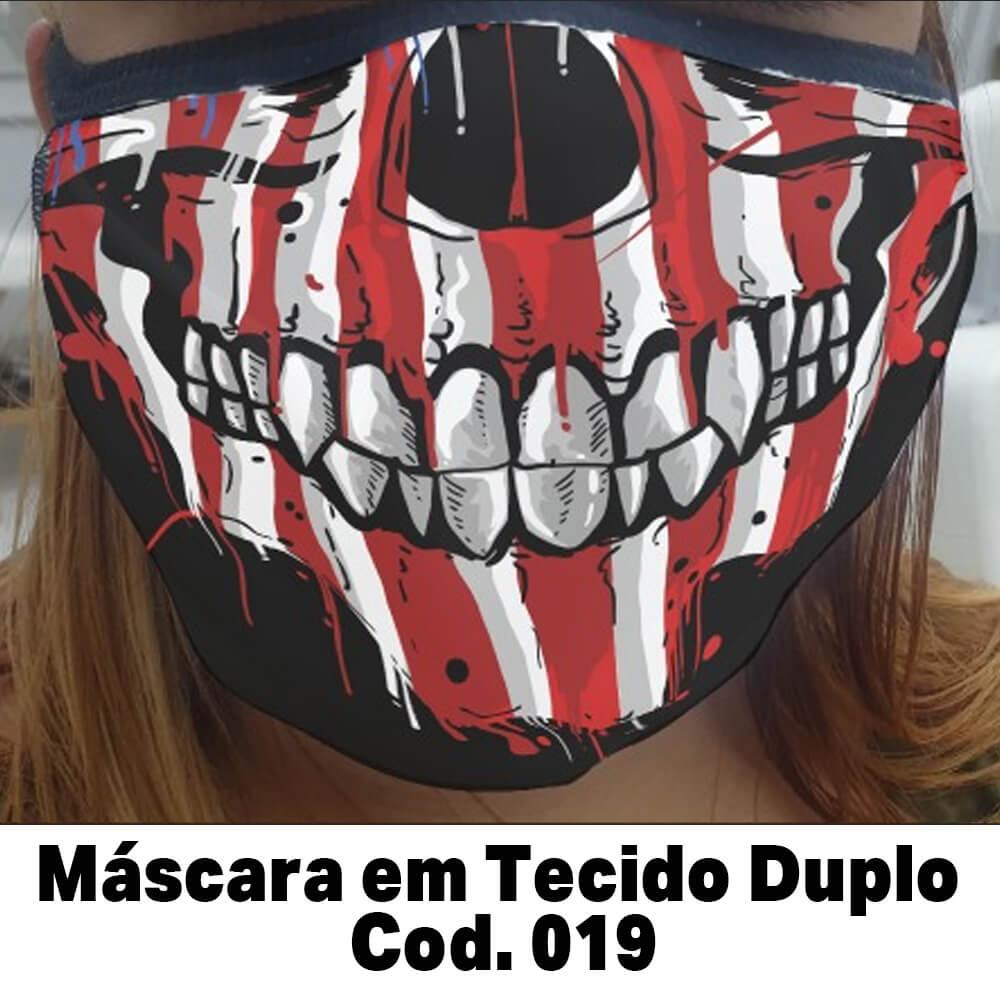 Máscara em Tecido  Cod. 019