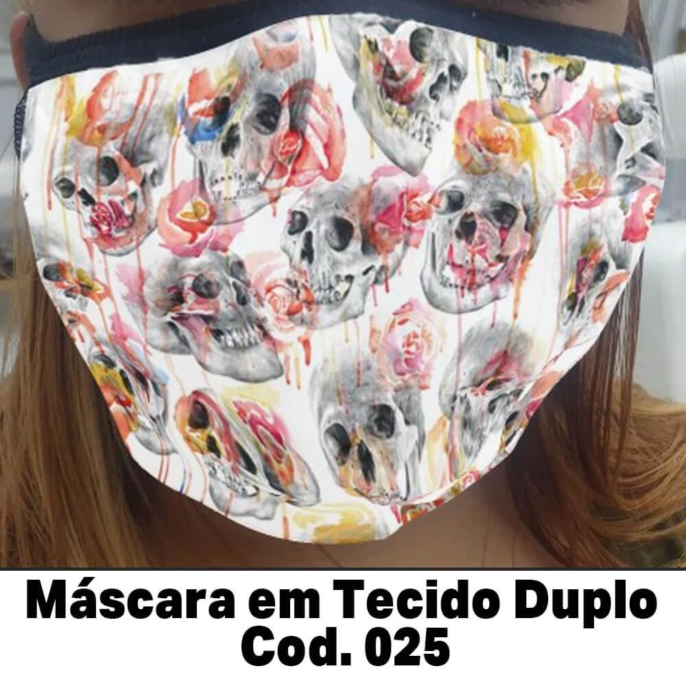 Máscara em Tecido  Cod. 025