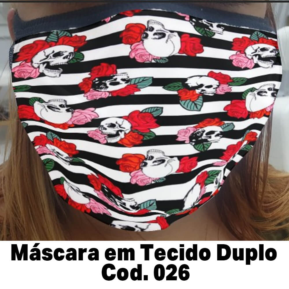 Máscara em Tecido  Cod. 026