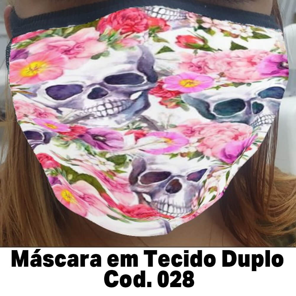 Máscara em Tecido  Cod. 028