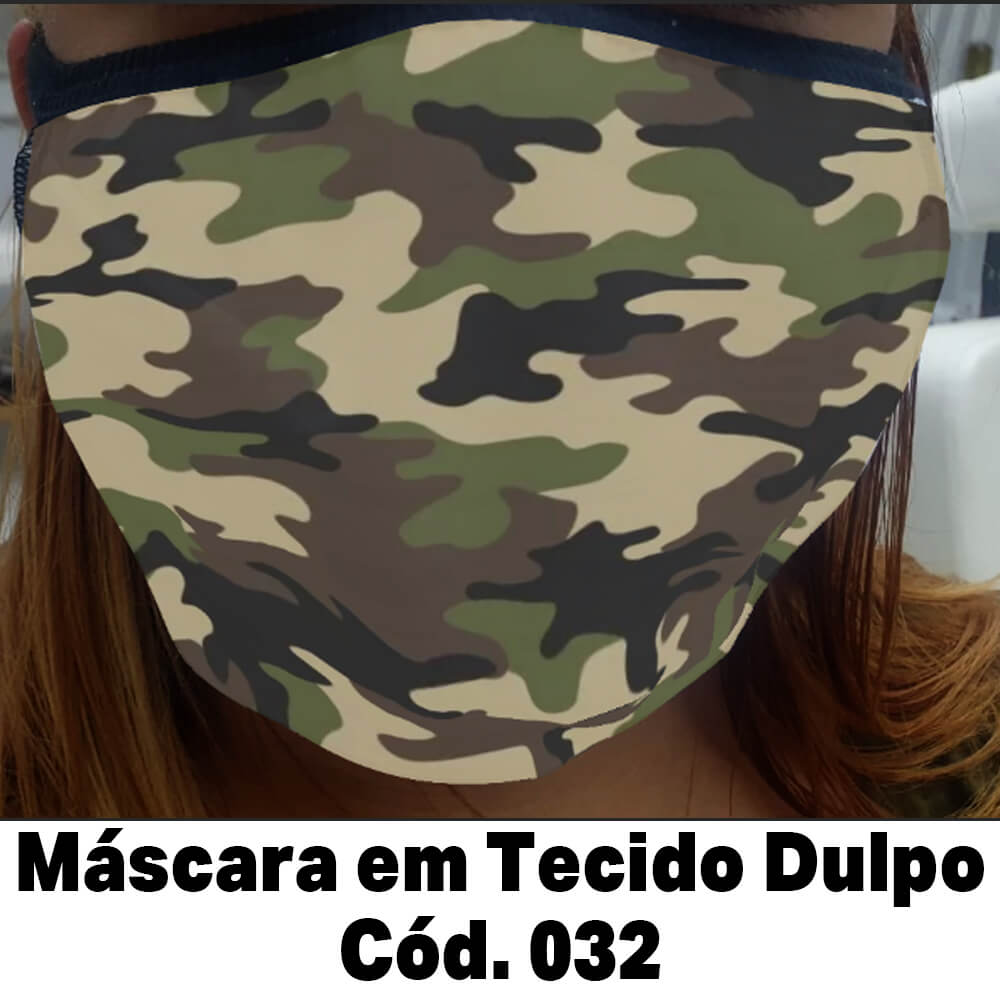 Máscara em Tecido Cod. 032