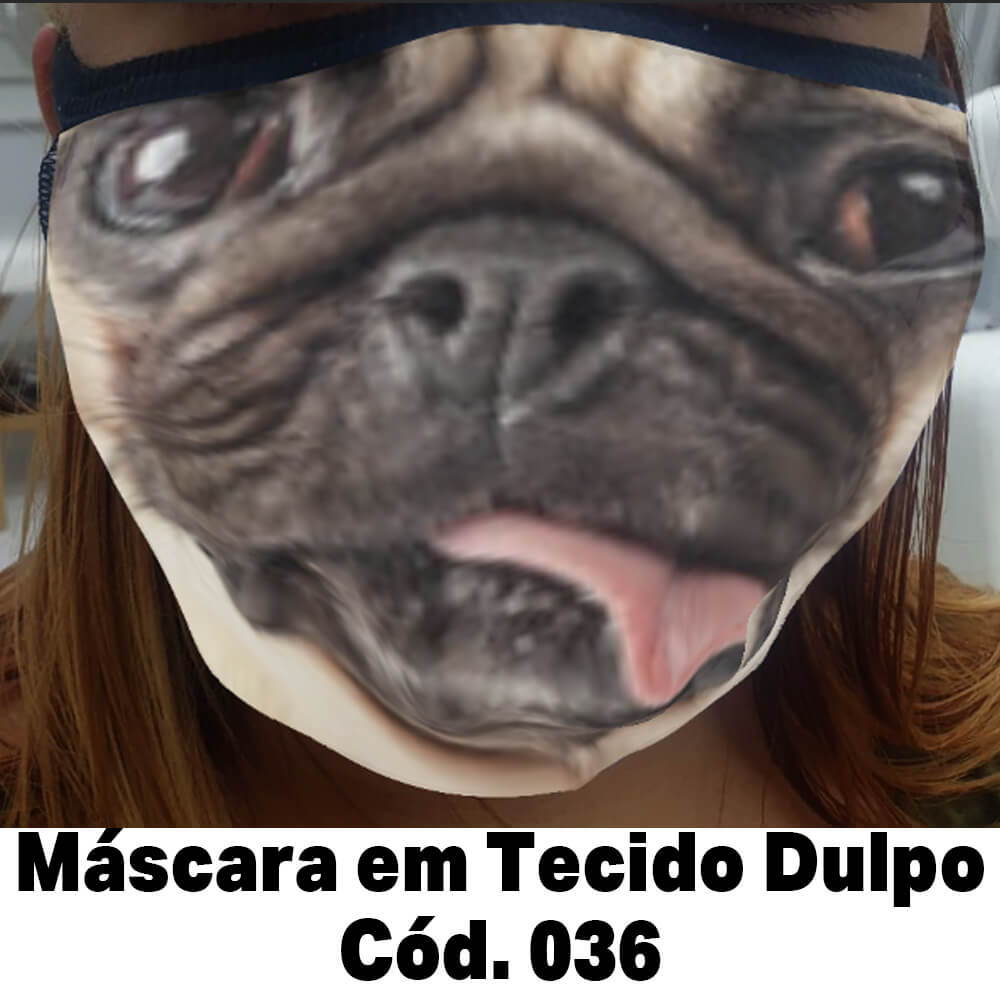 Máscara em Tecido Cod. 036