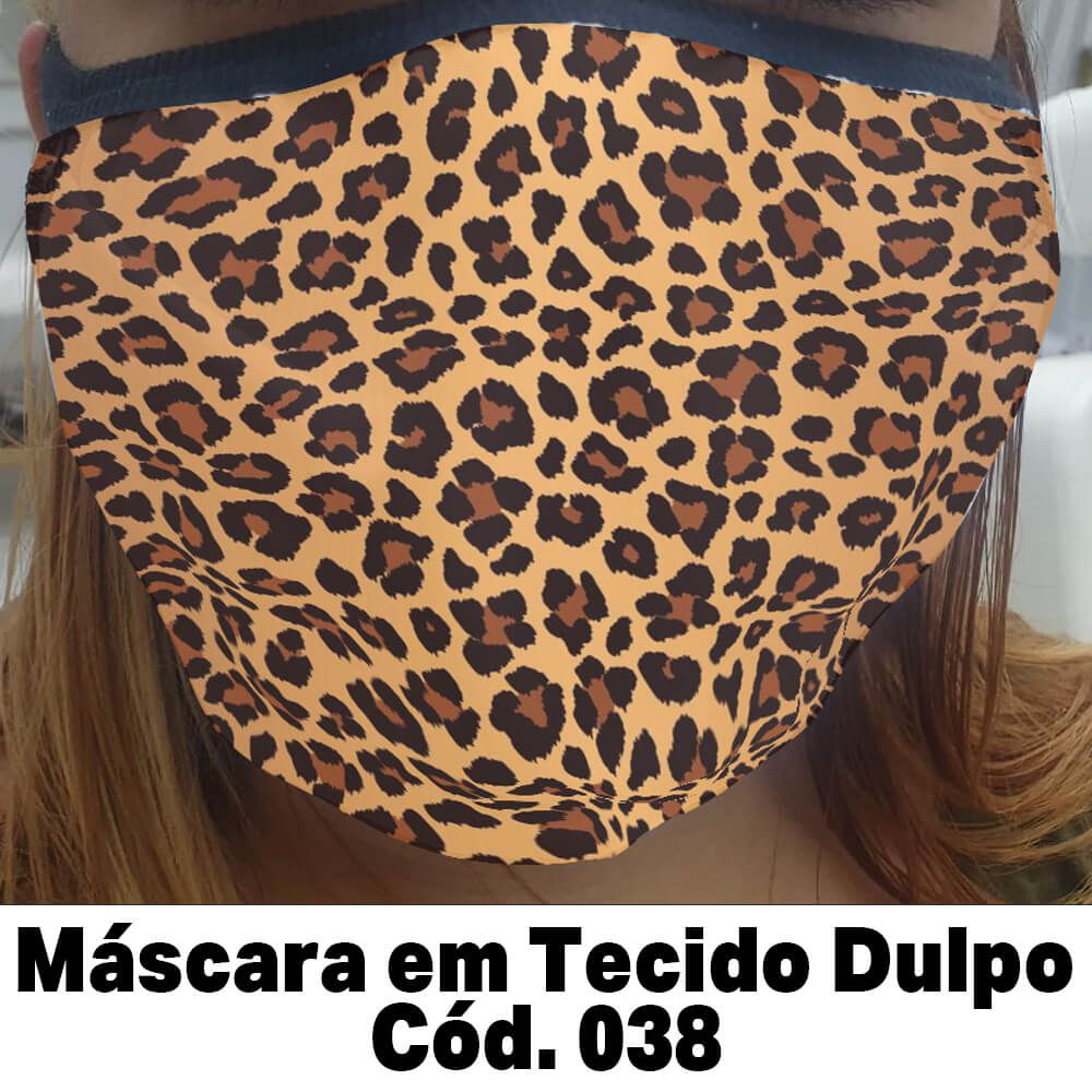 Máscara em Tecido  Cod. 038
