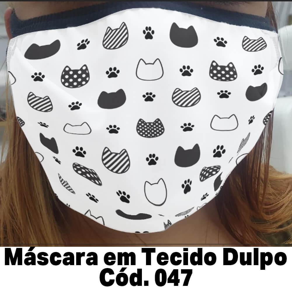 Máscara em Tecido  Cod. 047