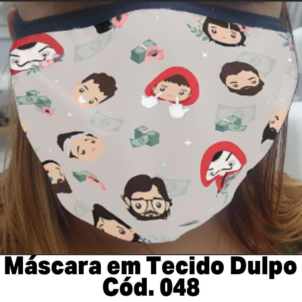 Máscara em Tecido  Cod. 048