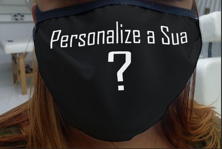 Máscara em Tecido  Personalizada