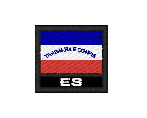 Patch Bandeira - Espirito Santo (ES)