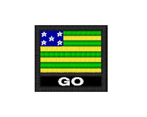 Patch Bandeira - Goiás  (GO)