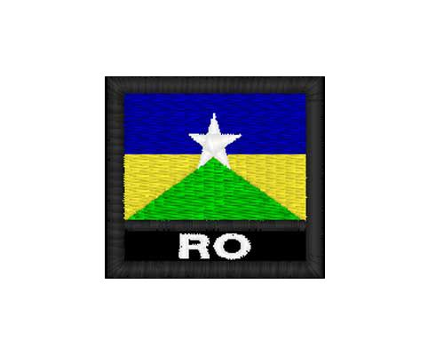 Patch Bandeira - Rondônia (RO)