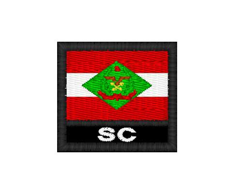 Patch Bandeira - Santa Catarina (SC)