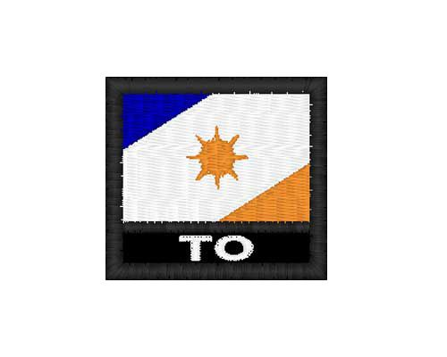 Patch Bandeira - Tocantins (TO)
