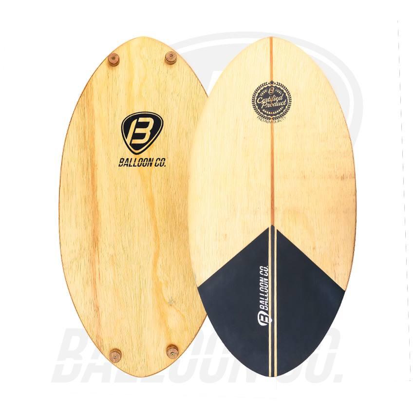 Balance Board Classic - Black Wood