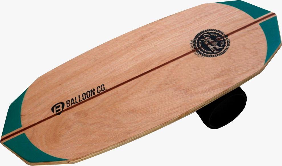 Prancha de Equilibrio-  Green Wood Free Style | Balloon Co.