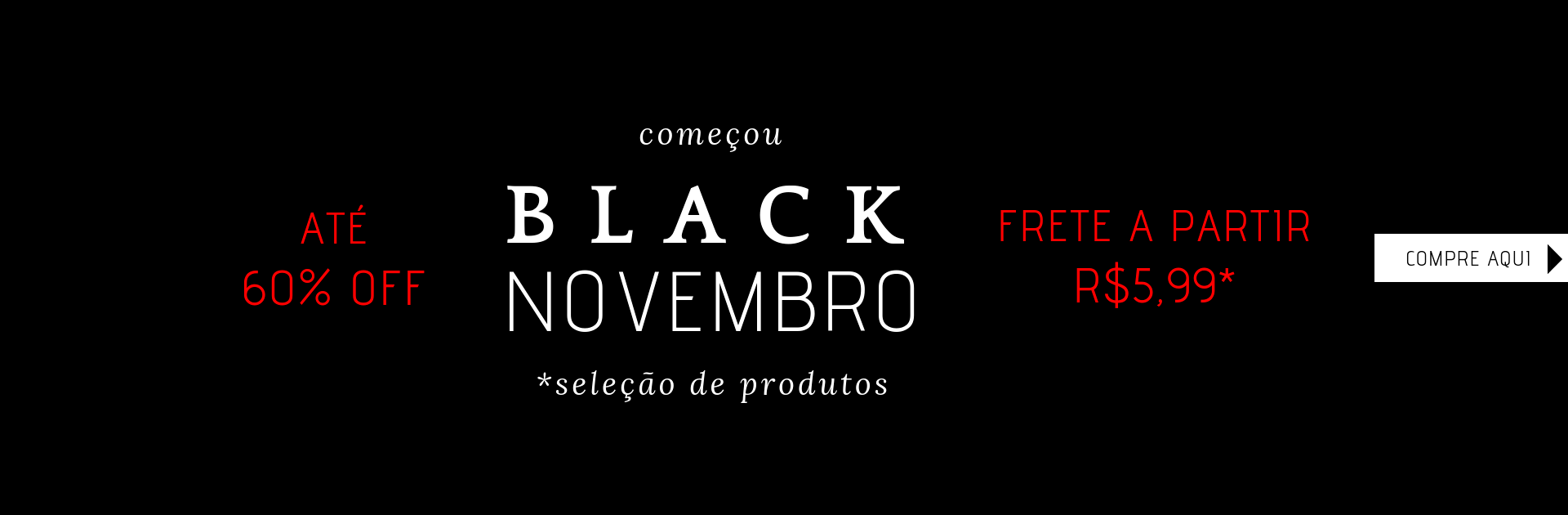 Black friday Moda evangélica