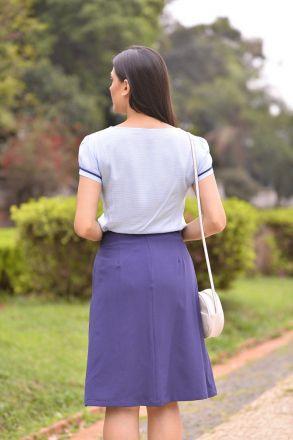 Blusa em Viscose com Detalhe Vivos Luciana Pais 92298