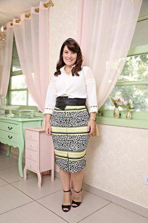 Camisa Moda Evangélica Plus Size Seda Kauly 2623