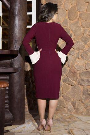 Vestido 2 Cores Malha Kauly 2202