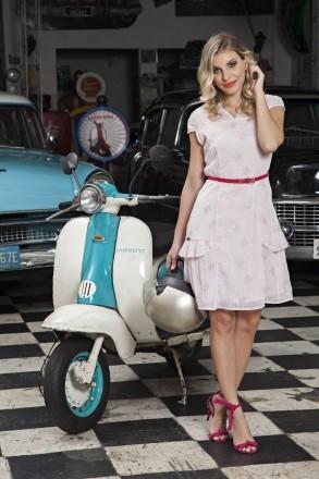 Vestido Chiffon Trabalhado Luciana Pais 92070
