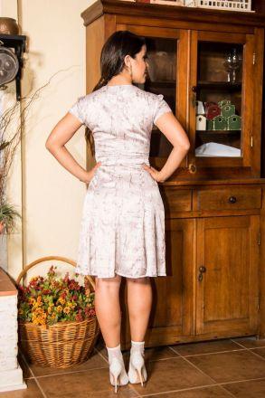 Vestido Crepe Acetinado Luciana Pais 92203