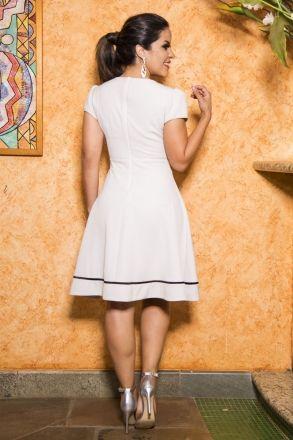 Vestido em Alfaiataria Luciana Pais 92184