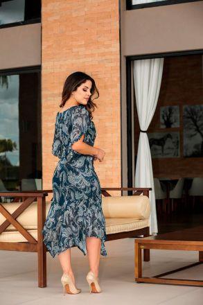 Vestido em Malha com Forro Luciana Pais 92403