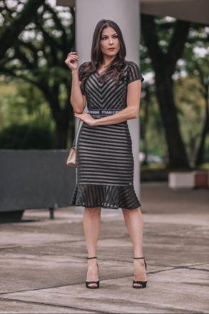 Vestido em Renda Luciana Pais 92351