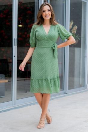 Vestido Luciana Pais Chiffon Pipoquinha 93013