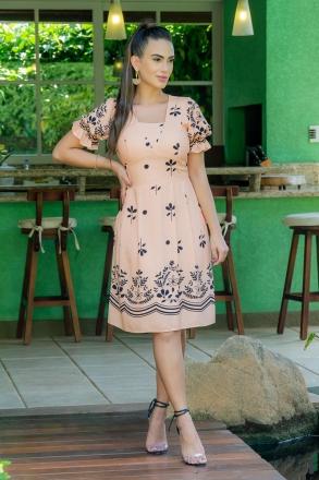 Vestido Luciana Pais Viscose 92967