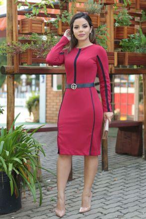 18f4c4a7ca vestido em viscose detalhe vies kauly 2319 - Busca na by Sophi Moda ...