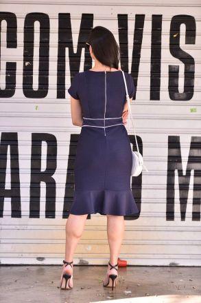 Vestido Tubinho em Malha LP 92262