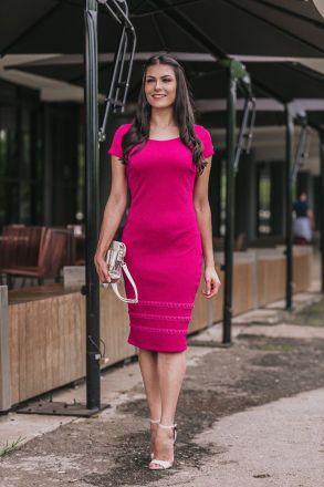 Vestido Tubinho em Malha Lurex Luciana Pais 92340