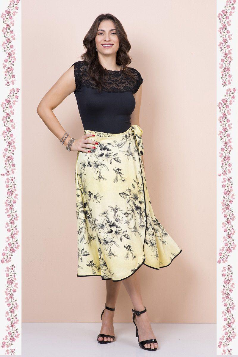 Body Shorts com Renda Kauly 2357