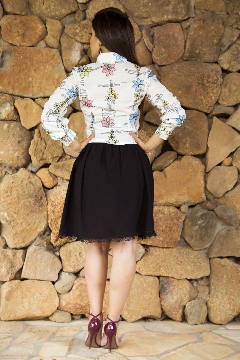 Camisa Algodão Viscose Luciana Pais 92161