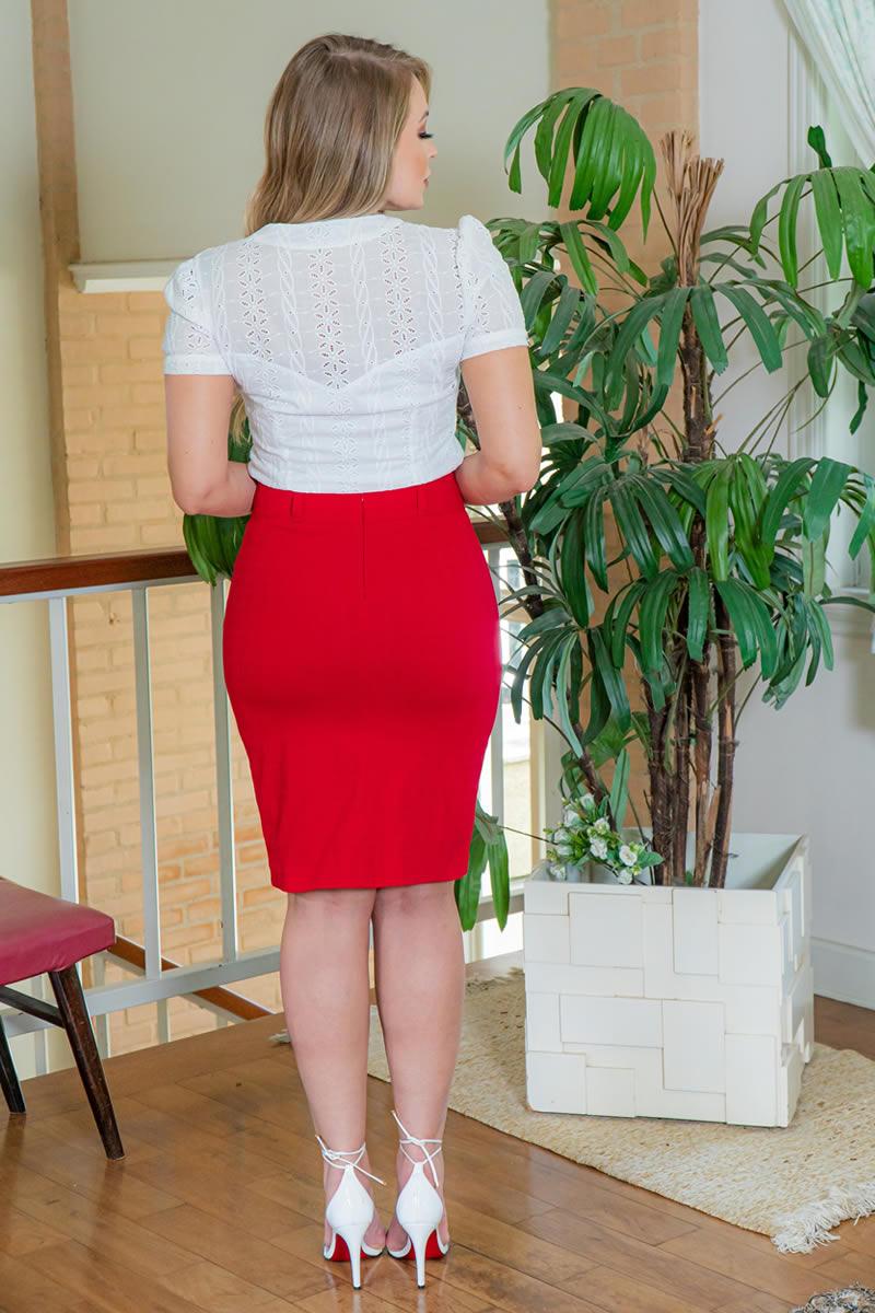 Camisa Kauly  Off White em Laise 3035