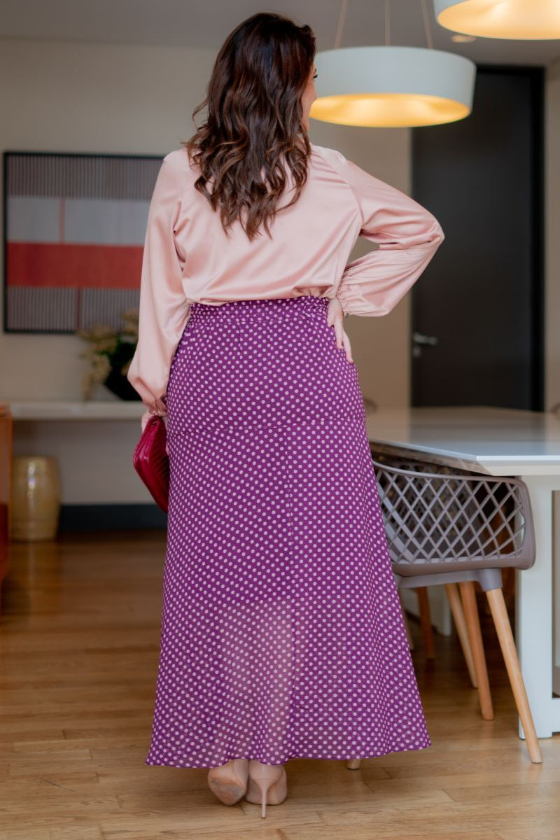 Camisa Plus Size Kauly em Cetim 3103 Rose