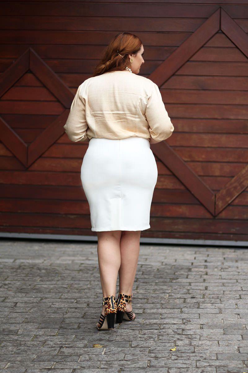 Camisa Plus Size Viscose  Kauly Moda Evangélica 2329