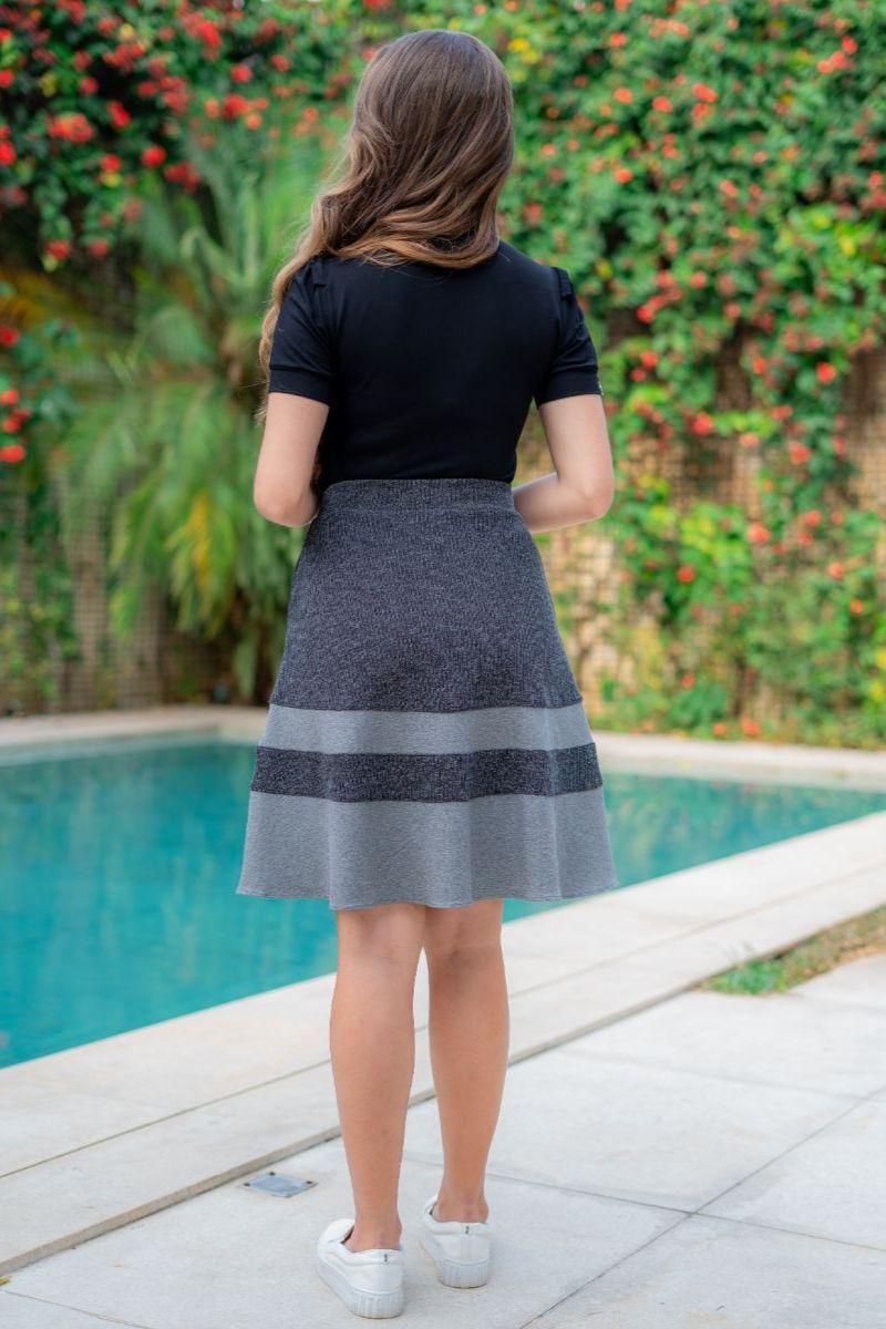 T-shirt Luciana Pais Malha Estampada 93110