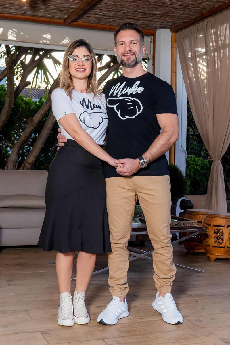 T-Shirt Masculino Dia dos Namorados Luciana Pais Preto 93106