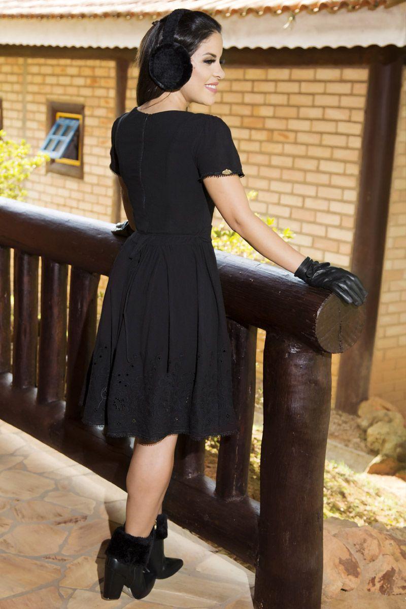 Vestido Algodão Luciana Pais 92154
