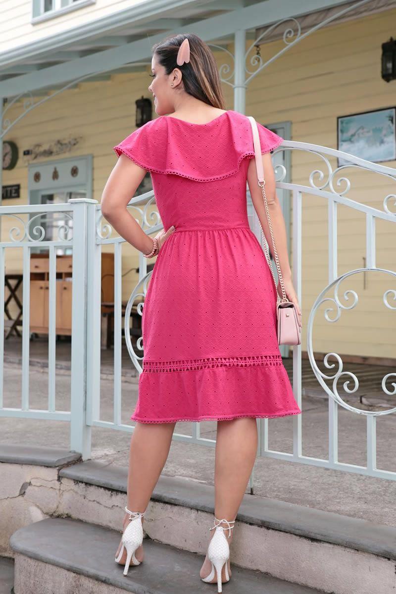 Vestido Ciganinha em Malha Lesie Luciana Pais 92582