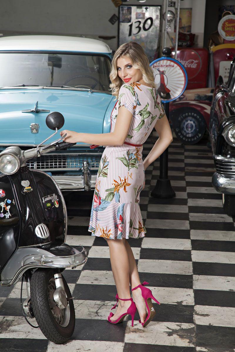 Vestido Detalhe Vies Luciana Pais 92088