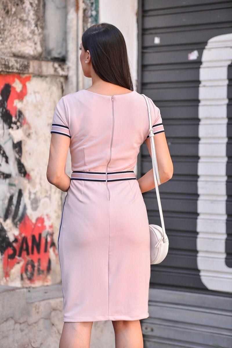 Vestido em Malha Detalhe Bolso LP 92269